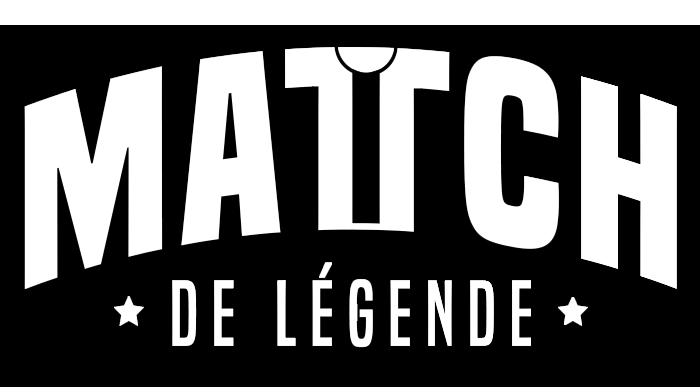 Logo Match de Légende |Blanc avec Ombre - La Marque de TShirt Foot
