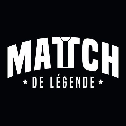 Match de Légende logo sur fond noir |Marque de T-Shirts made in France fan de foot