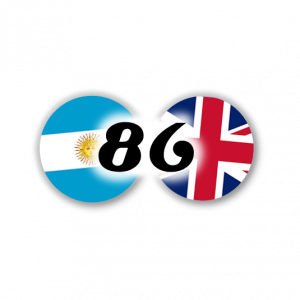 Argentine-Angleterre 86