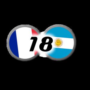 France-Argentine 2018