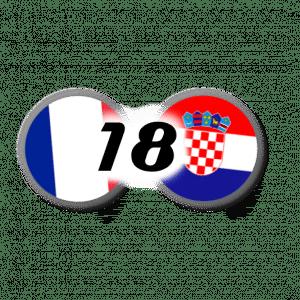 France-Croatie 2018